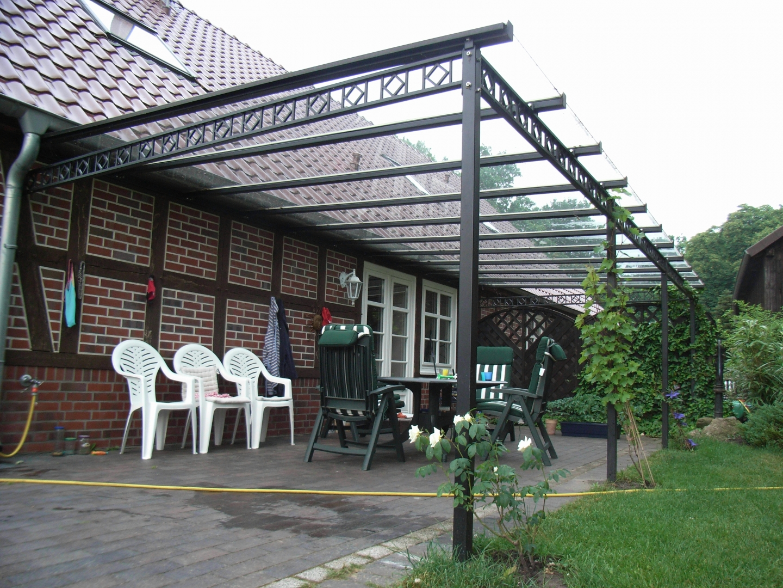 Terrassenüberdach-Glas