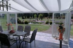 Kaltwintergarten mit Schiebetüren